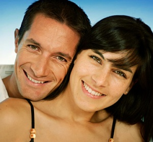 STD Smiling Couple