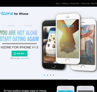 Hzone app for HIV people